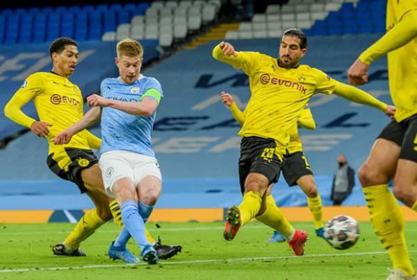 5 điểm nhấn Man City 2-1 Dortmund: Điểm 10 cho De Bruyne - Bóng Đá
