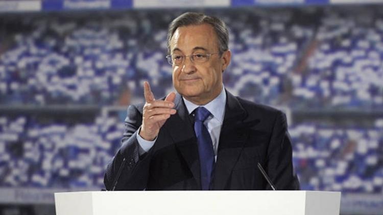 Florentino Perez cảnh báo Man Utd và Man City khi rời Super League - Bóng Đá