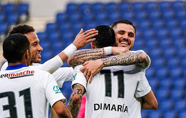 Icardi lập hat-trick trong ngày PSG đại thắng Angers tại Tứ kết Cúp QG Pháp - Bóng Đá