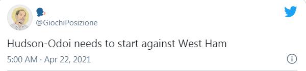 CĐV Chelsea kêu gọi Tuchel trao suất đá chính cho 1 cái tên trận West Ham - Bóng Đá