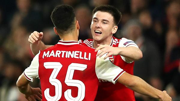 Arteta chỉ ra vấn đề nan giải giữa Martinelli và Tierney tại Arsenal - Bóng Đá