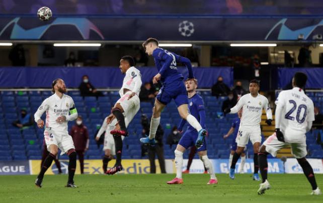 TRỰC TIẾP Chelsea 1-0 Real Madrid (H2): Havertz đưa bóng chạm xà - Bóng Đá