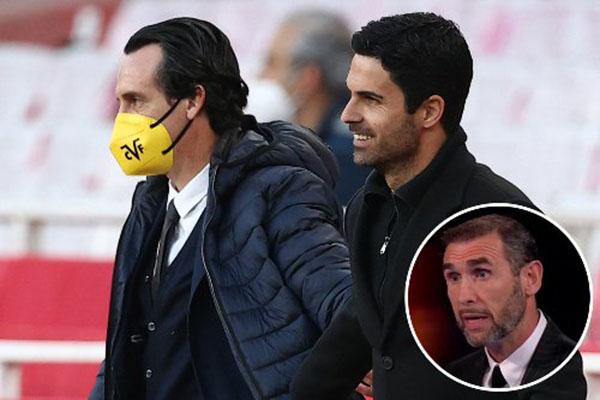 Martin Keown says Villarreal boss Unai Emery was 'too smart' for Mikel Arteta after Arsenal's Europa League exit - Bóng Đá