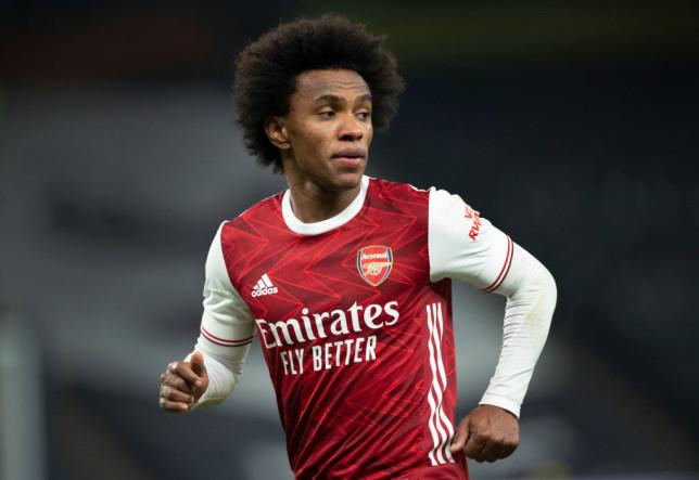 Arteta lên tiếng, nói 1 câu về tương lai của Willan ở Arsenal - Bóng Đá