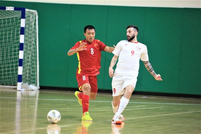 Thi đấu chặt chẽ, ĐT Fusal Việt Nam bất phân thắng bại trước Lebanon - Bóng Đá