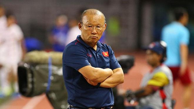 Thầy Park lý giải việc chọn Trọng Hoàng đá chính thay Văn Thanh - Bóng Đá