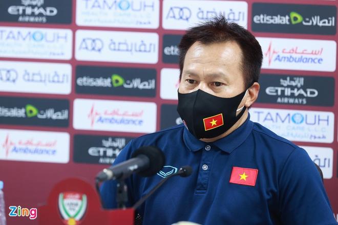 Trợ lý ĐT Việt Nam lý giải việc đưa bộ 3 HAGL vào sân trong hiệp 2 - Bóng Đá