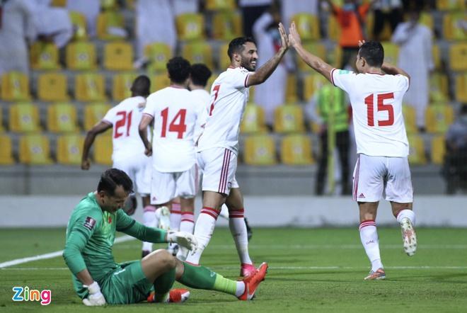 TRỰC TIẾP Việt Nam 0-3 UAE (H2): Al Hammadi đào sâu cách biệt - Bóng Đá