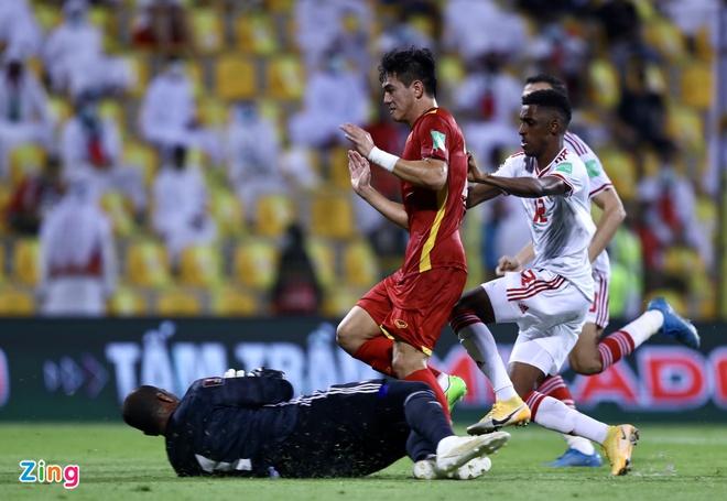 Trắng tay trước UAE, ĐT Việt Nam vẫn làm nên lịch sử tại VL World Cup - Bóng Đá