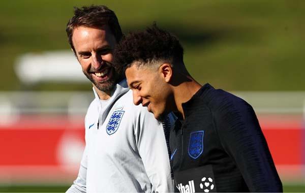 HLV ĐT Anh hé lộ kế hoạch sử dụng Jadon Sancho tại EURO 2020 - Bóng Đá