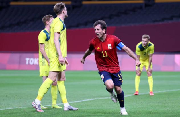 Thắng nghẹt thở Australia, Tây Ban Nha giành ngôi đầu bảng C - Bóng Đá