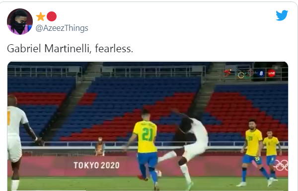 'OH NO': SOME ARSENAL FANS REACT TO GABRIEL MARTINELLI'S 'STUPID' ACTIONS AT OLYMPICS - Bóng Đá