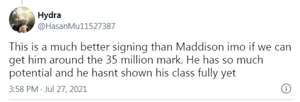 CĐV muốn Arsenal mua ngay 1 cái tên xuất sắc hơn Maddison - Bóng Đá