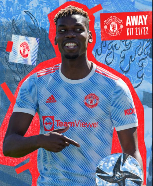 CHÍNH THỨC: Man Utd công bố áo thi đấu sân khách 2021/22 - Bóng Đá