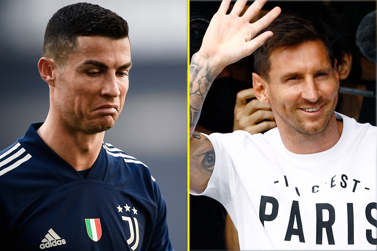 Được mời gọi nối gót Messi đến Ligue 1, Ronaldo có biểu cảm bất ngờ - Bóng Đá