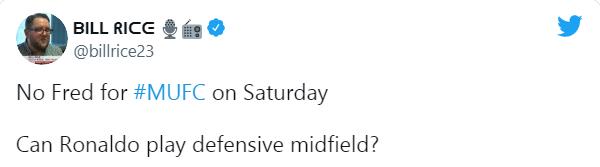 Fred bị treo giò, CĐV Man Utd gọi tên người thay thế tiềm năng - Bóng Đá