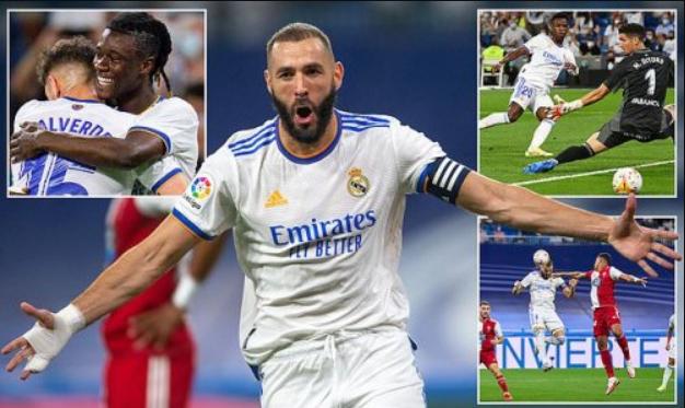 Benzema nã hat-trick, Real thắng tưng bừng Celta Vigo tại Bernabeu - Bóng Đá