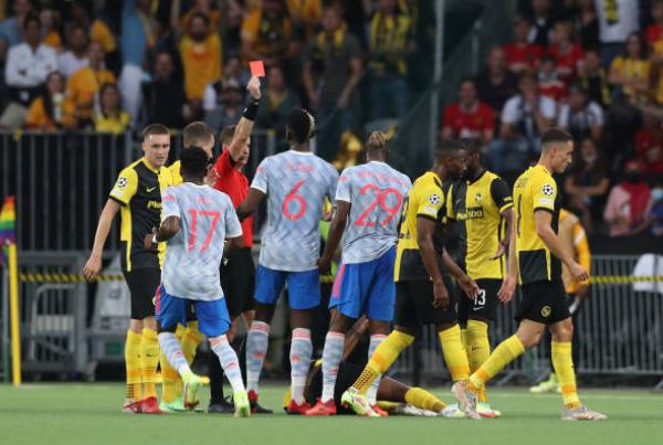 2 quyết định đúng đắn và 2 sai lần của Solskjaer trận thua Young Boys - Bóng Đá