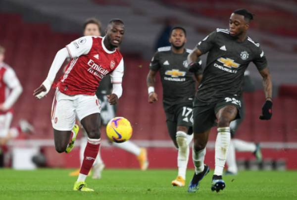 Nicolas Pepe xem thánh xoạc Man Utd là đối thủ khó nhằn bậc nhất - Bóng Đá