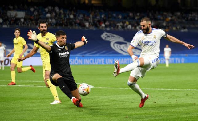 Benzema tịt ngòi, Real Madrid hoà nhạt nhoà Villarreal - Bóng Đá