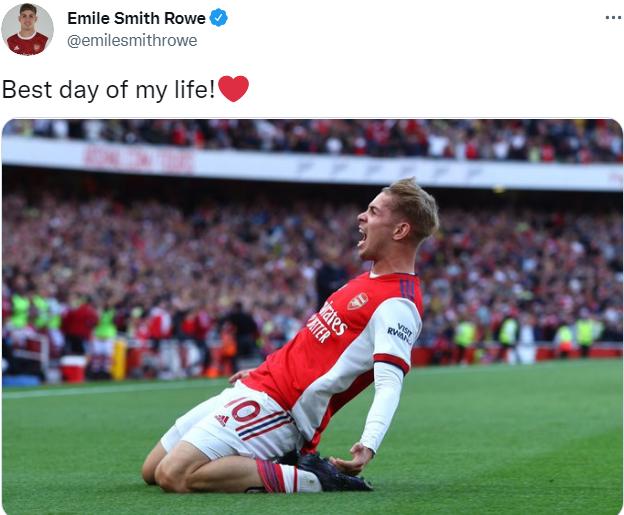 Phá lưới Spurs, Smith-Rowe gửi thông điệp vỏn vẹn 5 từ - Bóng Đá
