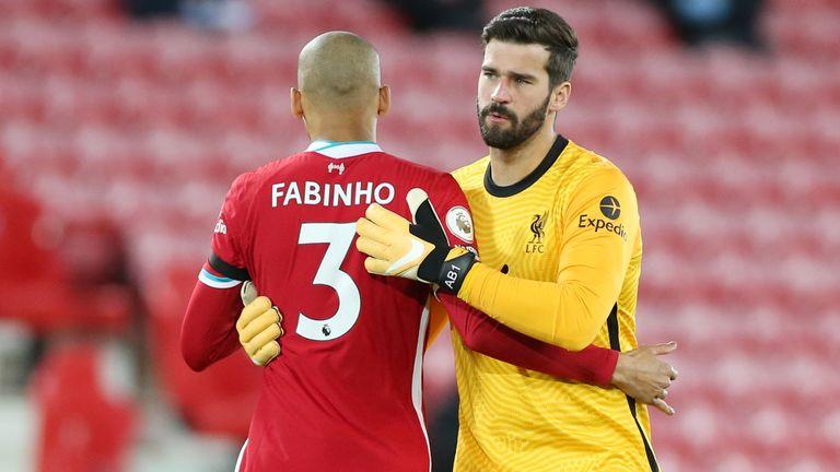 Fabinho lên tiếng về khả năng tham dự trận gặp Watford - Bóng Đá