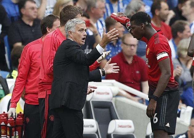 'Pogba là người duy nhất của Man Utd chơi bóng trước Brighton' - Bóng Đá