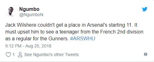 Vì Guendouzi, fan Arsenal nói lời cay đắng với Wilshere - Bóng Đá