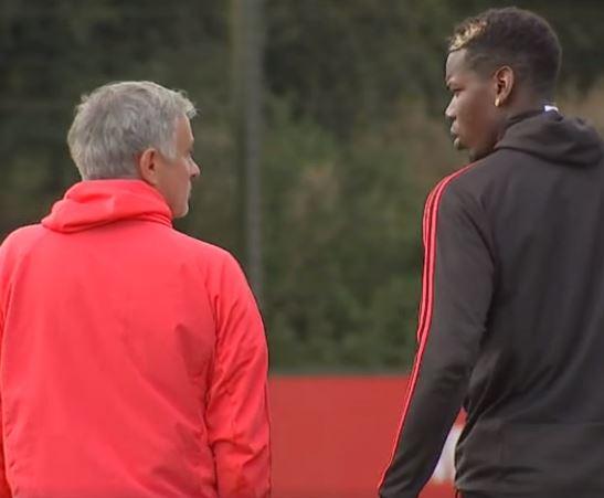 fan man utd biết pogba nói gì với mourinho trên sân tập - Bóng Đá