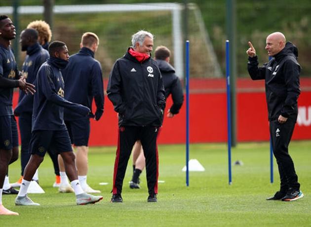 Được đồn bị sa thải, Mourinho