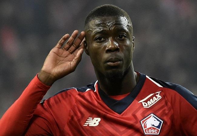Lille have rejected a proposal from Manchester United for Nicolas Pépé - Bóng Đá