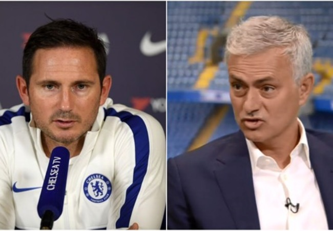 Frank Lampard reveals texts with Jose Mourinho after he 'had a little go' at Chelsea following Man Utd loss - Bóng Đá