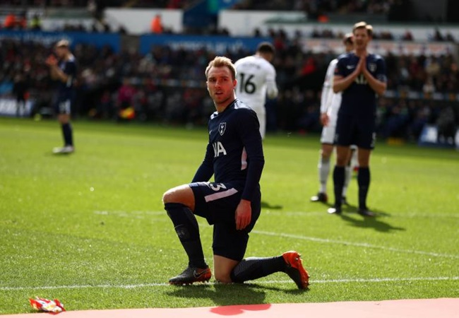 Inter have had 'no contact' with Tottenham about Christian Eriksen - Bóng Đá