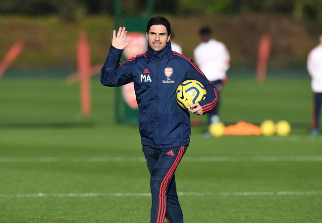 Arteta wouldn't have stopped working from coronavirus symptoms, says Arsenal coach's wife Lorena - Bóng Đá