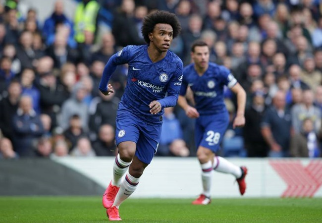 Willian's exit from Chelsea stalls as the Brazilian's agent insists coronavirus is taking priority amid links to Manchester United and PSG - Bóng Đá