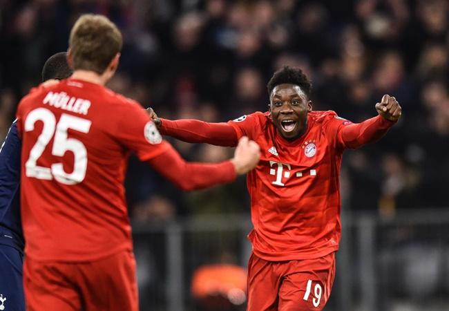 Alphonso Davies và những thông số 'cực đỉnh' ở trận gặp Dortmund - Bóng Đá