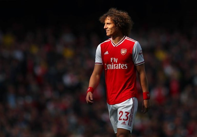 Benfica president reveals David Luiz will sign two-year Arsenal contract extension despite talks over return to Portugal - Bóng Đá