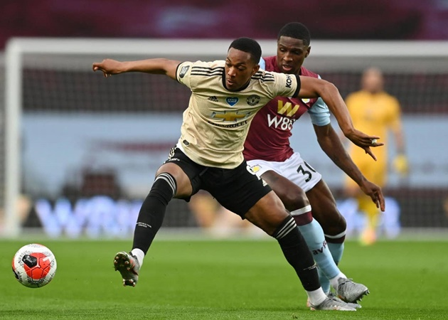What Ole Gunnar Solskjaer said about Anthony Martial reaction to Manchester United substitution - Bóng Đá