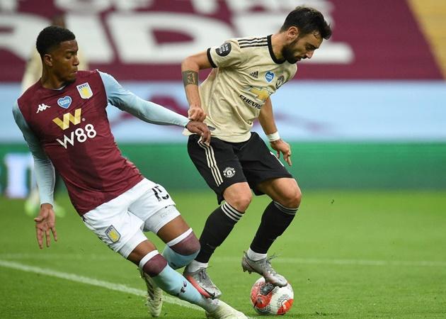 10 thống kê ấn tượng của 'siêu nhân' Bruno Fernandes trước Aston Villa - Bóng Đá