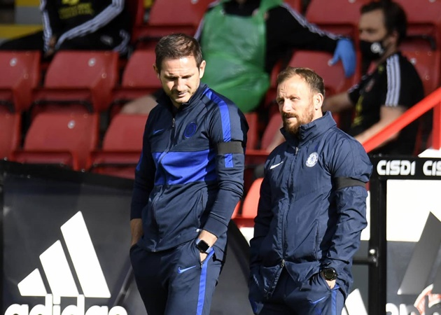 Furious Frank Lampard tears into Chelsea players after thumping Sheffield United defeat - Bóng Đá