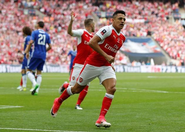 Đội hình Arsenal thắng Chelsea 2-1 ở chung kết FA Cup 2017 giờ ra sao? - Bóng Đá