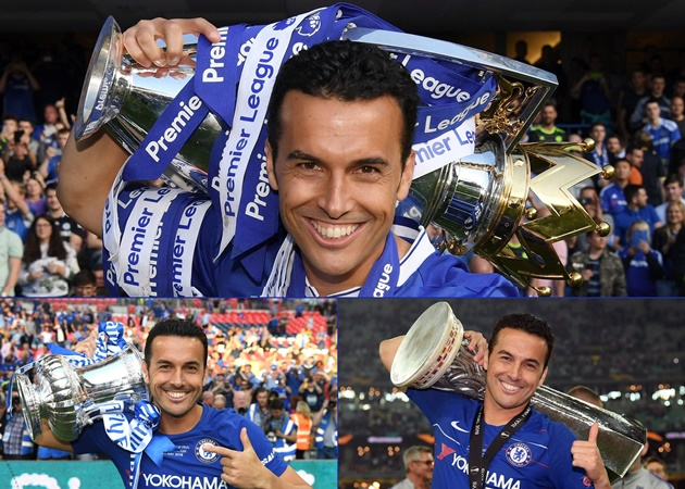 Pedro: It's been a pleasure and an honour. Thanks and good luck for the future. Come on Blues!!! - Bóng Đá