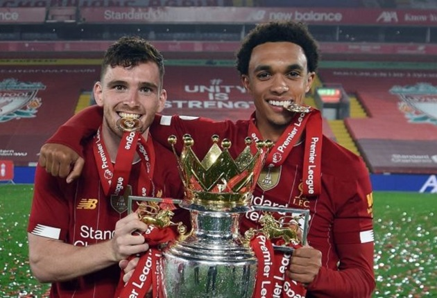 Trent Alexander-Arnold has been named the Premier Leagues Young Player Of The Year 19/20 - Bóng Đá