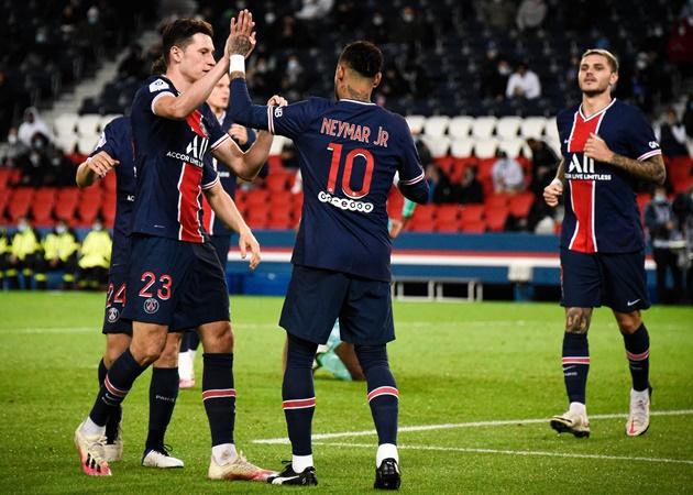 'Song sát' Mbappe - Neymar bùng cháy, PSG 'đánh tennis' với Angers - Bóng Đá