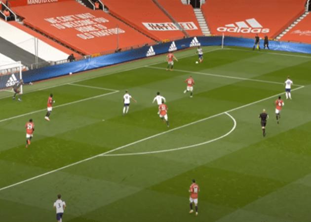 'What is your problem!?' – David de Gea caught raging at Man Utd teammate Luke Shaw during Spurs loss - Bóng Đá