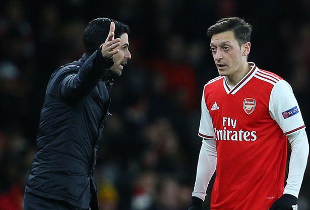 Mesut Ozil's agent accuses Mikel Arteta of lying about Arsenal snub decision - Bóng Đá