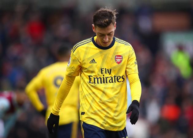 Brendan Rodgers says he'd treat Mesut Ozil in same way Mikel Arteta has done - Bóng Đá