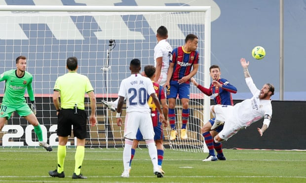 Decisive Madrid penalty 'very clear', insists Ramos - Bóng Đá