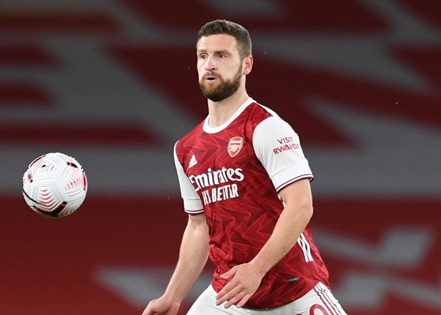 Shkodran Mustafi rejected Arsenal's offer of a contract extension in the summer - Bóng Đá