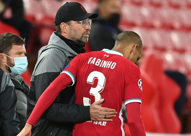 Jurgen Klopp provides Fabinho injury update after Liverpool's win over Midtjylland Comment - Bóng Đá